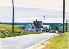 Edward Hopper - HIGH ROAD, 1931