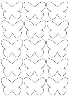 Crafts For Kid Inspiration For Children Of All Ages - Lumax Homes Preschool Crafts, Diy Crafts For Kids, Art For Kids, Arts And Crafts, Paper Crafts, Butterfly Template, Butterfly Crafts, Flower Template, Crown Template