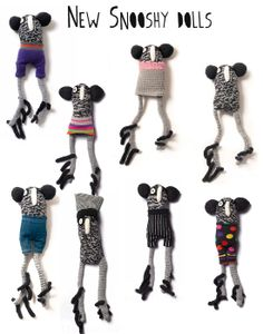 New Snooshy dolls http://knuffelsalacarteblog.blogspot.nl/