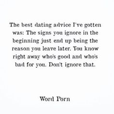 So true - don't ignore the red flags! Best For Me Quotes, Believe In Me Quotes, Choose Me Quotes, Quotes To Live By, Dont Ignore Me Quotes, I Deserve Better Quotes, Sin Quotes, Advice Quotes, Good Relationship Quotes