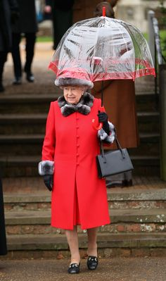 Queen Elizabeth II Photos - The Royal Family Attend Church On Christmas Day - Zimbio