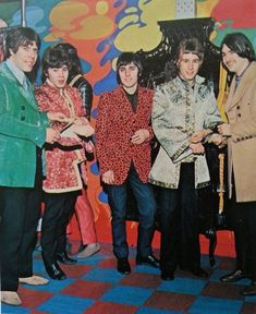 Status Quo at the Apple Boutique, 1967 Hippie Man, Hippie Style, 1960s Style Makeup, Status Quo Band, Blue Soul, Rick Parfitt, Swinging London, Twist And Shout, Age Of Aquarius