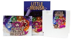 Coming soon to the NES in cartridge form, Little Medusa is an action puzzler about a Greek goddess having a terrible hair day.