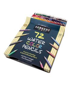 Loving this Water Color Pencils Set on #zulily! #zulilyfinds