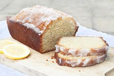 Luscious Lemon Drizzle Cake Recipe - the oz. measurements are off for this cake... go by the gram measurements. Put half a lemon's juice in the batter. Cut the icing in half (half a lemon's juice + 40g. granulated sugar). I would maybe up the lemon intensity - a bit subdued right now but certainly a pleasant lemon flavor
