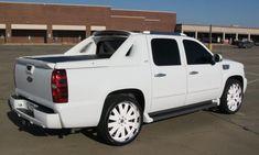 Chevy Avalanche White is so pretty