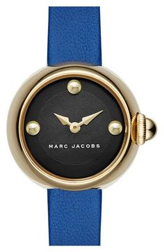 MARC BY MARC JACOBS 'Courtney' Leather Strap Watch, 28mm available at #Nordstrom