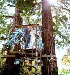 Romantic Tree House For Wedding Ideas