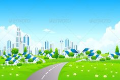 Realistic Graphic DOWNLOAD (.ai, .psd) :: http://jquery-css.de/pinterest-itmid-1003697084i.html ... Green Landscape with City ...  background, building, business, city, cityscape, flower, grass, greenery, home, horizon, house, illustration, landscape, nature, office, sky, skyline, skyscraper, spring, summer, tower, vector, village  ... Realistic Photo Graphic Print Obejct Business Web Elements Illustration Design Templates ... DOWNLOAD :: http://jquery-css.de/pinterest-itmid-1003697084i.html
