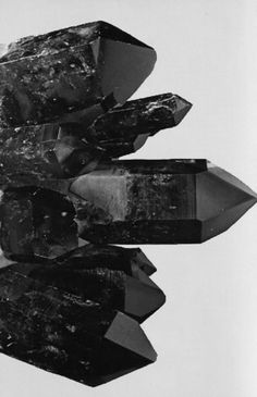 ~eBOnY crYstaL ~* Raissa Gomez via AliceRose Gregory onto Cristales, Minerales y Piedras Preciosas / Crystals, Minerals and Gemstones Minerals And Gemstones, Rocks And Minerals, Black Quartz, Black Onyx, Black Amethyst, Black White, Yennefer Of Vengerberg, The Dark Crystal, Mineral Stone