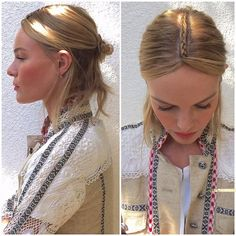 Kate Bosworth Braid Coachella 2015 | POPSUGAR Beauty