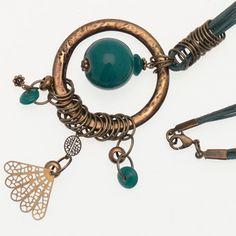 Collier Lazuli, exemple de réalisation de bijou