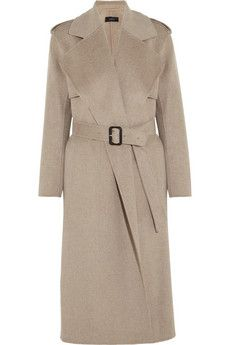 Joseph Win wool and cashmere-blend trench coat | NET-A-PORTER