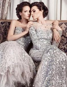 50 Silver Winter Wedding Ideas for Your Big Day - Bridesmaid Dresses Silver Wedding Colours, Silver Winter Wedding, Fall Wedding, Mode Glamour, Fancy Party, Costume, Beautiful Gowns, Stunning Dresses, Amazing Dresses