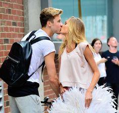Celebrity PDA of 2017 - December 11, 2017: Victoria's Secret Angel Romee Strijd and boyfriend Laurens Van Leeuwen kissed in New York City on July 28.