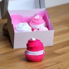 Geschenkidee für die Babyparty: Cupcake-Babybodies ...