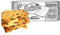 sultana zelf maken zonder pakjes/zakjes Breakfast Snacks, Healthy Cake, Sweet Recipes, Clean Eating, Sweets, Bread, Cookies, Baking, Cupcakes
