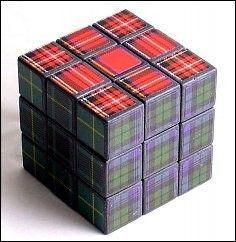 Scottish Rubik's cube ~Rach (buyakilt.com)                                                                                                                                                                                 More