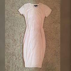 New nude suede dress A love❤️very sexy suede dress , comes with tag ! Very stretchy and so soft! Not Zara brand! Offers accepted Zara Dresses Midi