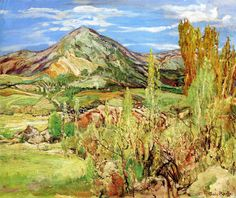 Edge Of The Valley - Charles Reiffel