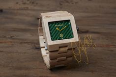Luxury Wooden Watch with a quality Japanese Movement- The Garwood Great Dane. This unique watch is designed using natural American Maplewood. Wood Grain Watch, Wooden Watch, Watch Sale, Square Watch, Digital Watch, Bracelet Watch, Unique Gifts, Etsy Shop, Mens Fashion