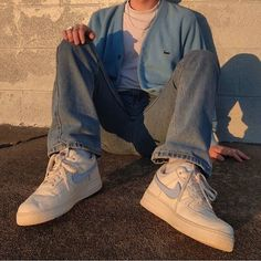 comfy and cute outfits Streetwear Mode, Streetwear Fashion, Mens Style Streetwear, Vintage Outfits, Retro Outfits, Boy Outfits, Summer Outfits, 90s Outfit Men, Guy Style