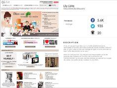 http://www.lily-liste.com/ #YkoneNetwork