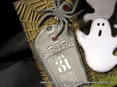 Creations by Patti: 2010 Halloween, love the little tag...