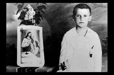 John Paul II, First Communion. (Young Karol Wojtyla.)