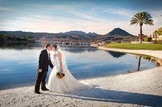 Beautiful Lakeside Wedding At The Lake Club Las Vegas Sand
