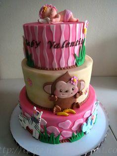 Baby Animal Cake with Sleeping Baby Cake Topper | Yelp
