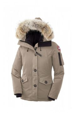 Canada Goose coats outlet store - Parka navy capuche vraie fourrure Montebello Canada Goose pour ...
