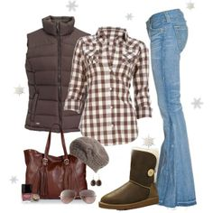 switch out the uggs and i'm all over this comfy fall outfit!