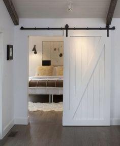 barn door - make one for kids toy closet!