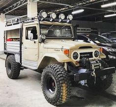 Toyota Lc, Toyota Fj40, Toyota Trucks, Lifted Ford Trucks, Jeep Cars, Jeep 4x4, Jeep Truck, Daihatsu, Toyota Land Cruiser