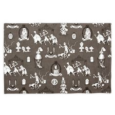 The Haunted Mansion Wallpaper Placemat - Characters
