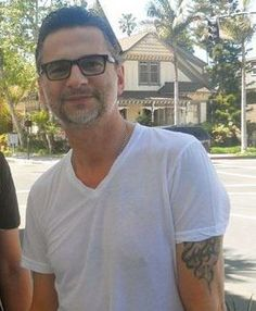 Dave Gahan In Glasses (**Sigh**)