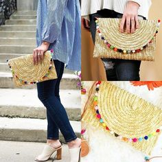 In love with this #pompomclutch