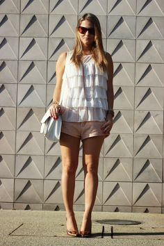 Rosé, white, Rosamango, Look of the day