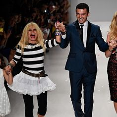 Mercedes-Benz New York Fashion Week Betsey Johnson MBFW Spring 2015  Image Credit: © Depositphotos.com / fashionstock