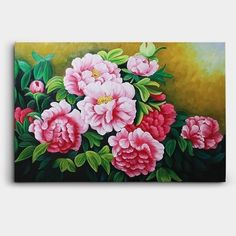 돈들어오는 그림, 어떤게 있을까? 베스트 4 « 세오아트갤러리 Peony Flower, Flower Art, Peony Painting, Dream Garden, Feng Shui, Furniture Decor, Peonies, Abstract Art, Tapestry
