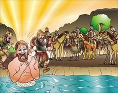 NAAMÁN  2 Reyes 5  Había un hombre llamado Naamán que era jefe del ejército del rey de Siria. Naamán estaba ...