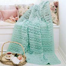 Spring Luxury Afghan Crochet Pattern ePattern