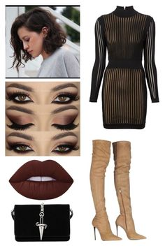 """""""Untitled #220"""" by stillkidruahl on Polyvore featuring Balmain, Roberto Cavalli, Lime Crime and Cesare Paciotti"""
