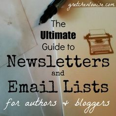 I'm here to help clear the confusion and explain not only the how, but the why of email lists and newsletters for bloggers and authors.
