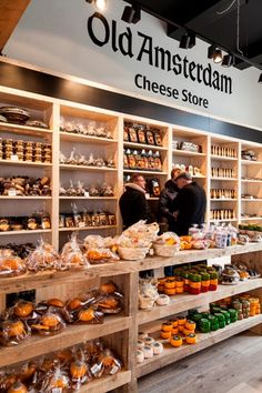 Old Amsterdam Cheese Store, Dam 21, Amsterdam.