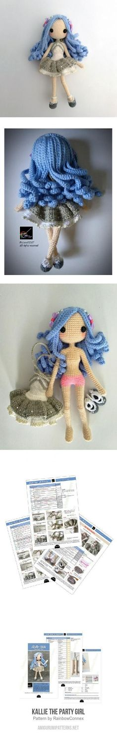 Kallie The Party Girl amigurumi pattern