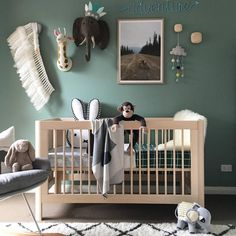 """653 mentions J'aime, 13 commentaires - Miann & Co (@miannandco) sur Instagram : """"So much to love in this nursery the colours and textures are . Our grid reversible quilt looks…"""""""