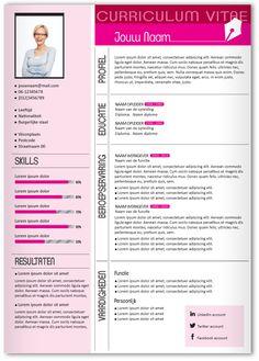 CV design 321. Gebruik dit CV ontwerp om je eigen CV te laten pimpen.