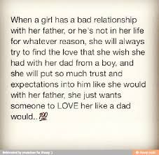 a girl without a father
